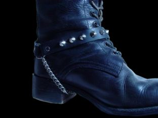 Conical Stud Boot Straps